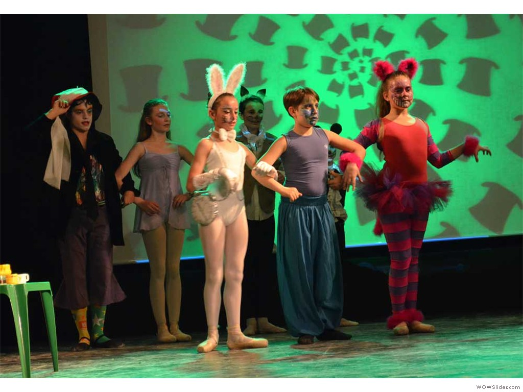 danzarte saggio 2013 -Alice in wonderland