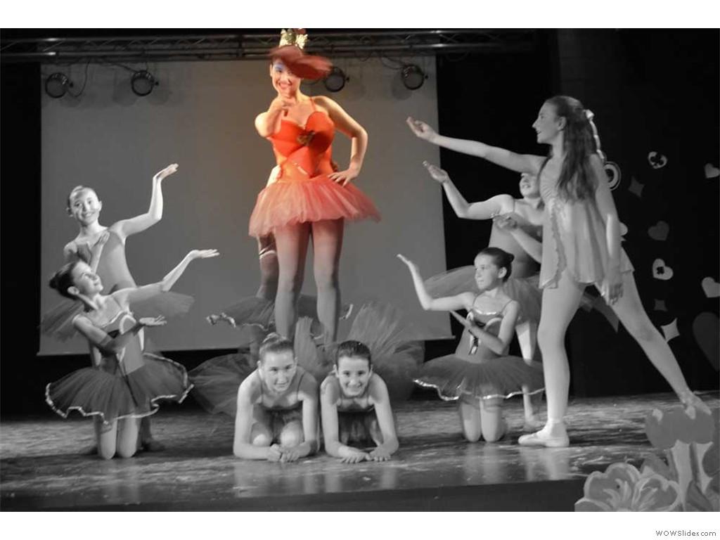 danzarte saggio 2013 -Alice in wonderland