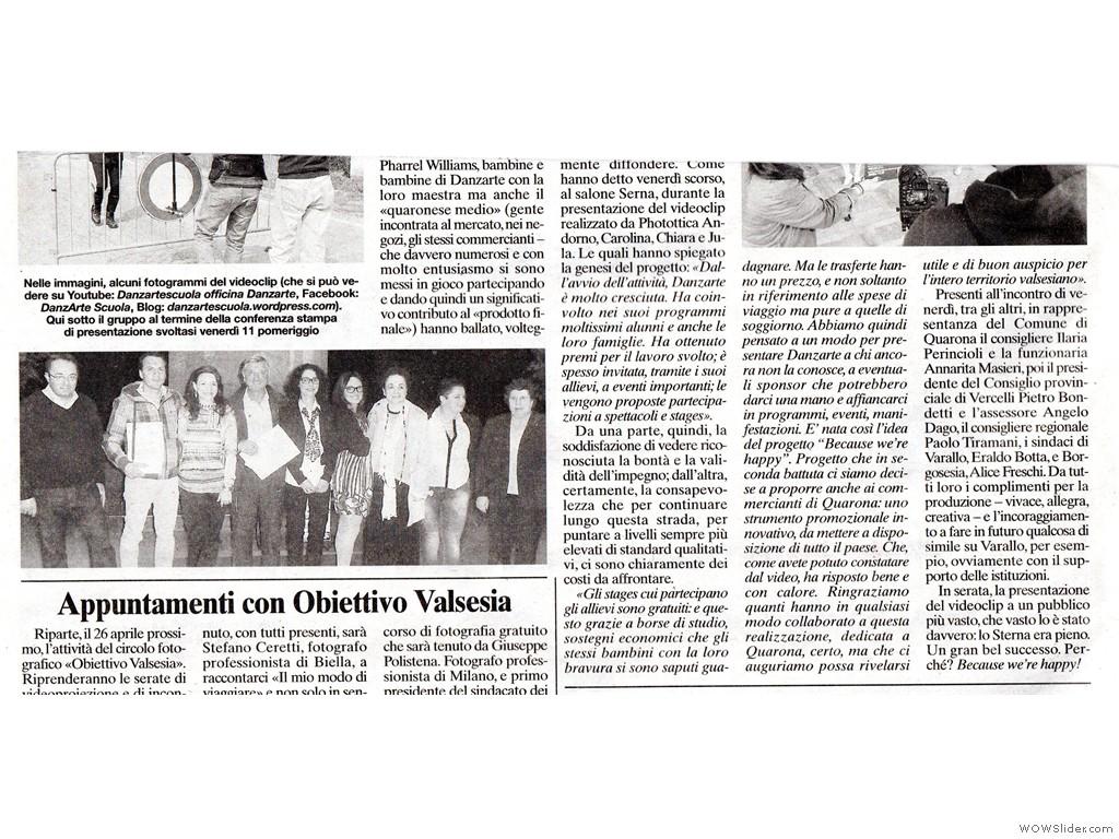 Corriere Valsesiano 18 Aprile 2014 p.2
