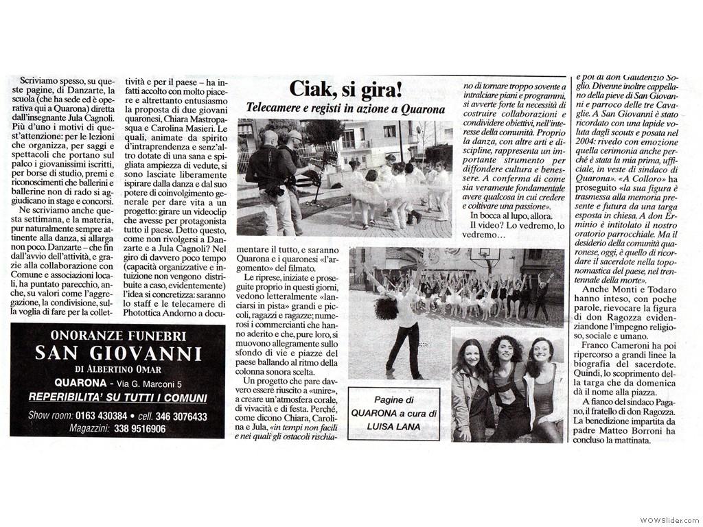 Corriere Valsesiano 4 aprile 2014