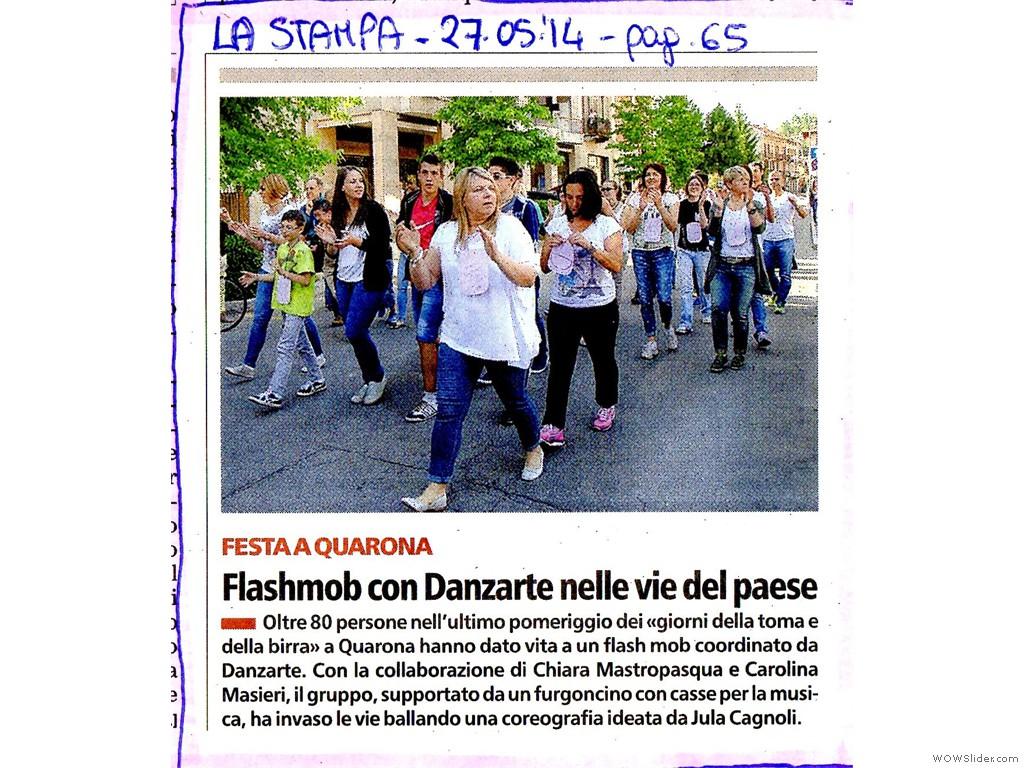 La Stampa 27 Maggio 2014