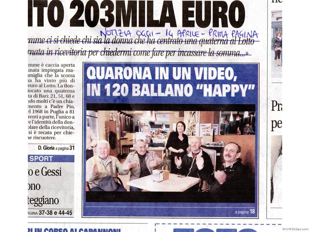 Notizia Oggi 14 Aprile 2014 - prima pagina
